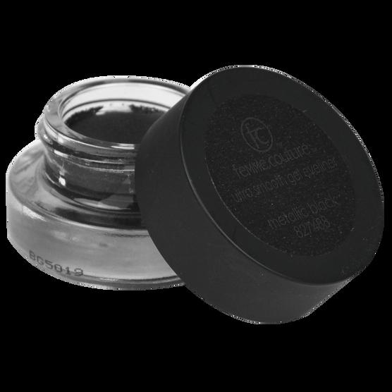 Delineador de Ojos Ultra Smooth Gel Metallic Black, , hi-res