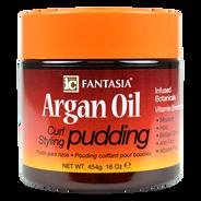Crema Estilizadora para Rizos con Aceite Argán Pudding, , hi-res