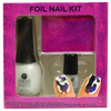 Kit con Hoja Metálica para Uñas FingerPaints, , hi-res