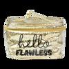 Cosmetiquera Grande Dorada Hello Flawless, , hi-res