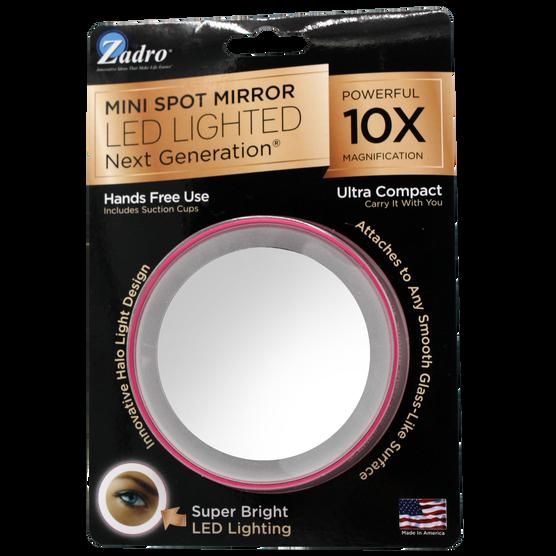Mini Espejo con Iluminación 10X, , hi-res