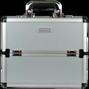 Neceser Mediano con cubierta Aluminio y perfiles Plata, , hi-res