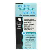 Tinte Permanente en Crema en Polvo Water Works #20 Black, , hi-res