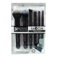 Set de Brochas Moda Total Face, , hi-res