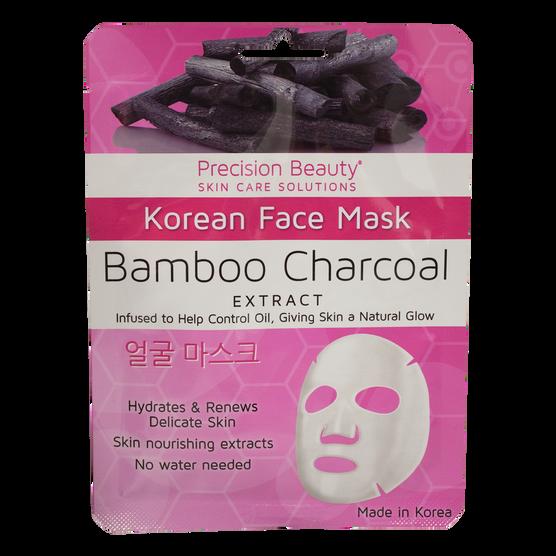 Mascarilla Facial con Carbón y Bambú, , hi-res