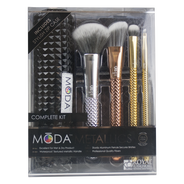 Kit 4 de Brochas con Cosmetiquera, , hi-res