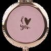 Espejo Rose Gold I Love You, , hi-res