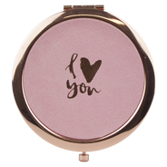 Espejo Rose Gold I Love You, , hi-res