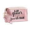 Cosmetiquera Glitter Is My Favorite Color, , hi-res