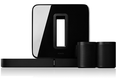 5.1 Surround Sound Package with PLAYBASE and One