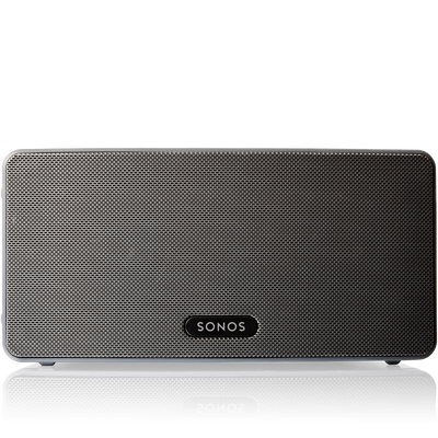 play 3 mid size home speaker with stereo sound sonos. Black Bedroom Furniture Sets. Home Design Ideas