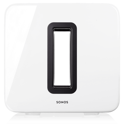 Sonos SUB white front view