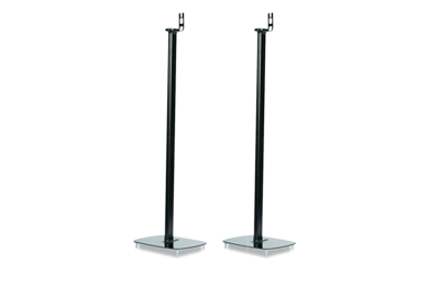 Pair of Flexson Floor Stands for PLAY:1 black