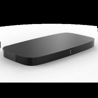 Sonos PLAYBASE sett i vinkelperspektiv (svart)