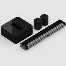 5.1 Surroundljudpaket med PLAYBAR och One