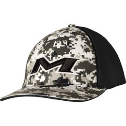 Adult Digi-Black Mesh Hat