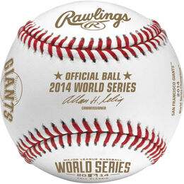 MLB 2014 World Series Champions Baseballs