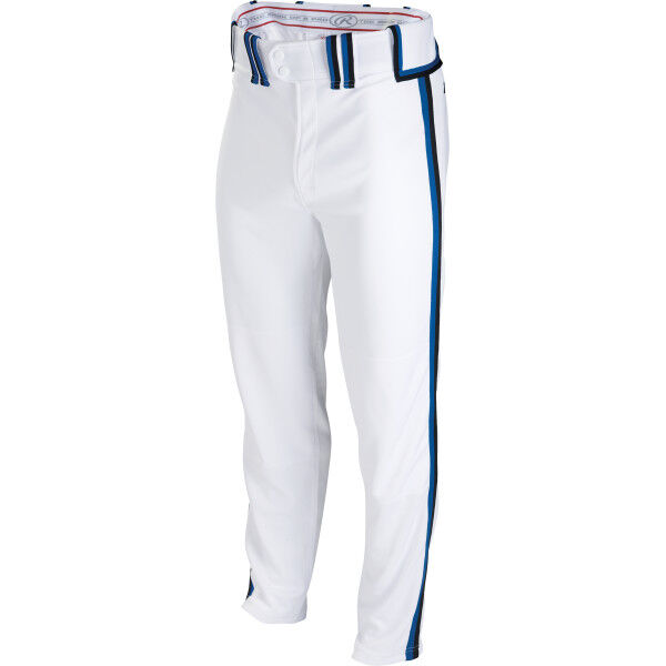 Adult Semi-Relaxed Pant White/Black/Royal