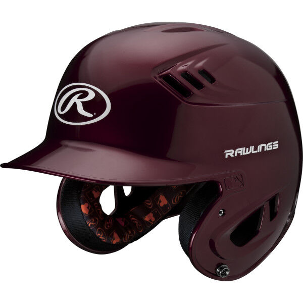 Velo Junior Batting Helmet Maroon