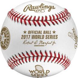 MLB 2017 World Series Dueling Baseball