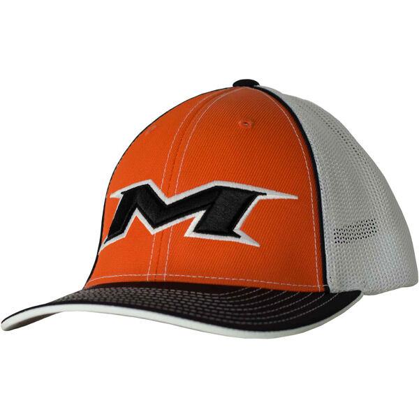 Adult Orange-White Mesh Hat