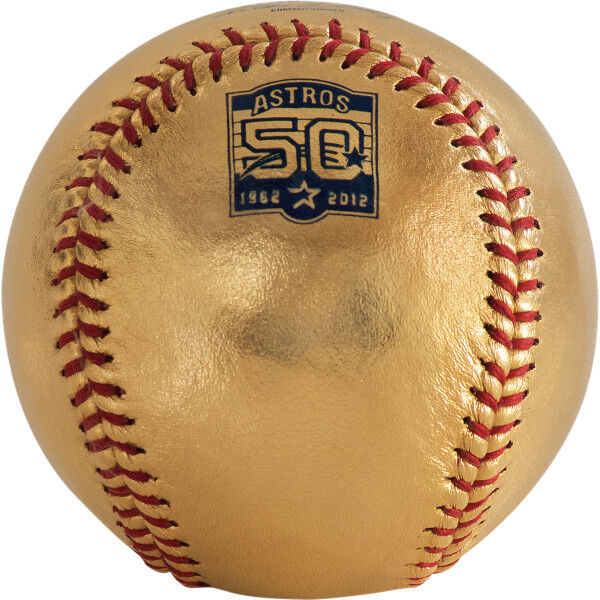24K MLB 2012 Houston Astros Anniversary Baseball
