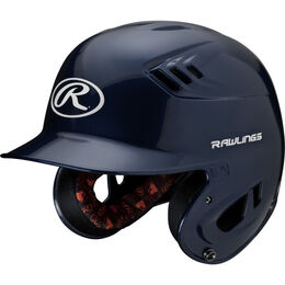 Velo Junior Batting Helmet Navy