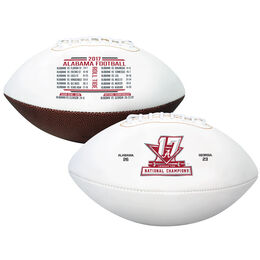 2017 College Football National Champions Alabama Crimson Tide Full Sized Football