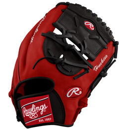 Cardinal/Black Custom Glove