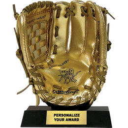 Miniature Gold Glove Award