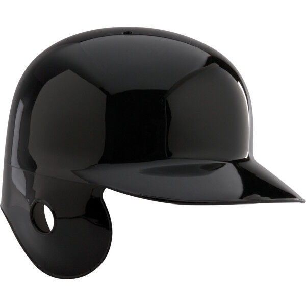 Adult Coolflo Batting Helmet for Left Handed Batter Black