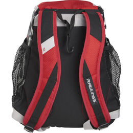 Youth Players Backpack Scarlet