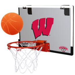 NCAA Wisconsin Badgers Hoop Set