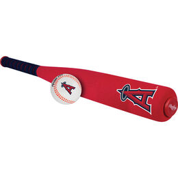 MLB Los Angeles Foam Angels Bat and Ball Set