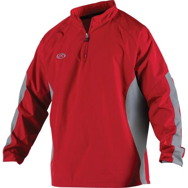Adult Long Sleeve Jacket Scarlet