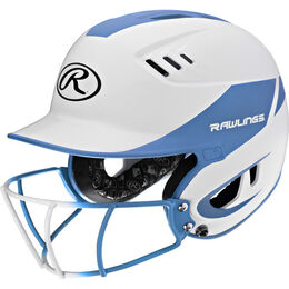 Velo Senior Batting Helmet Columbia Blue