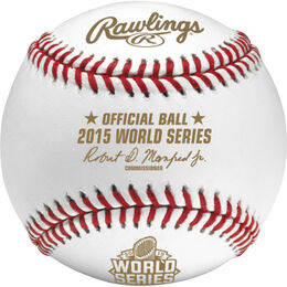 MLB 2015 World Series Baseballs