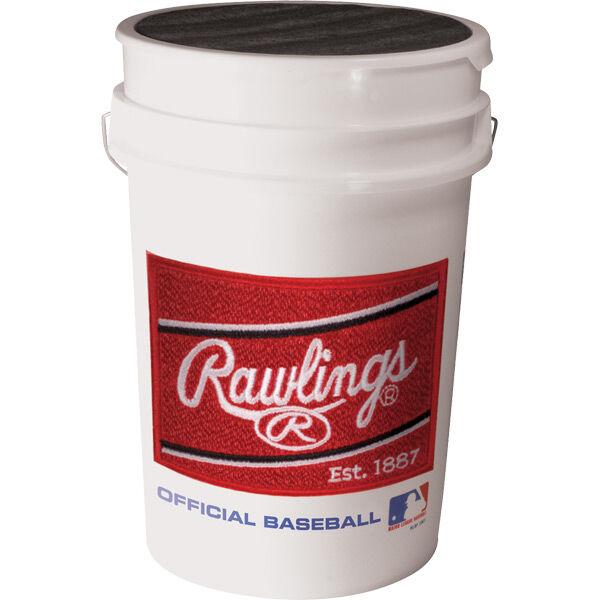 Bucket of R100HS High School Practice Baseballs (3 DZ)