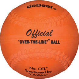 deBEER 12 in Clincher Orange Softballs