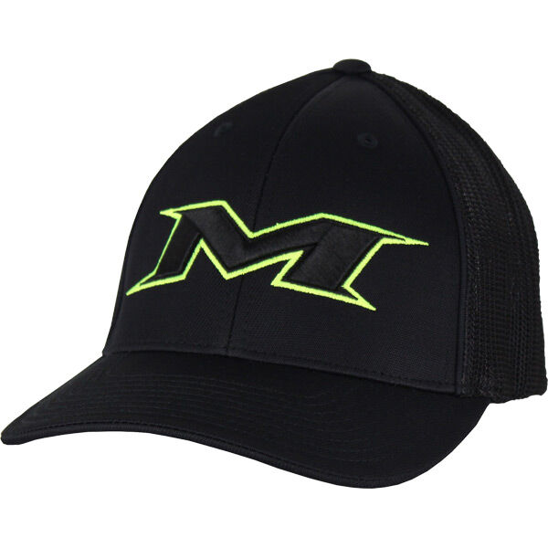 Youth Black-Green Mesh Hat
