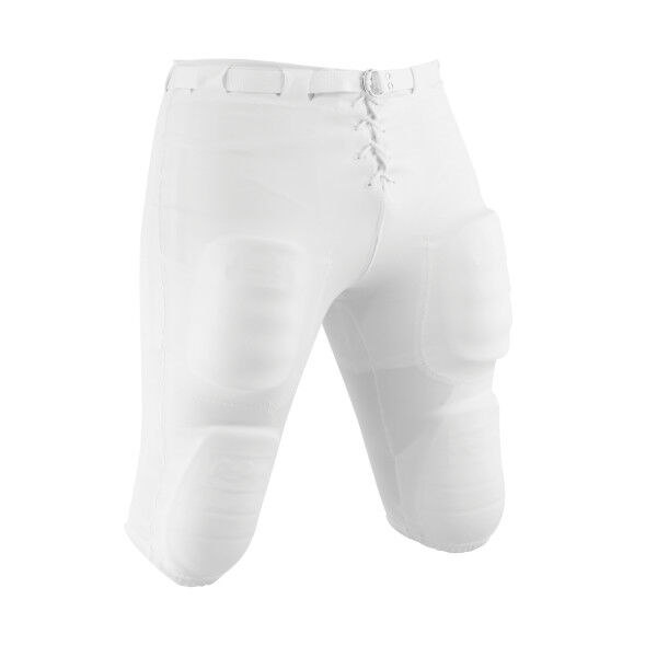 Adult Slotted Football Pant White