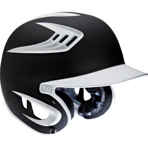 RPR Junior Batting Helmet Black
