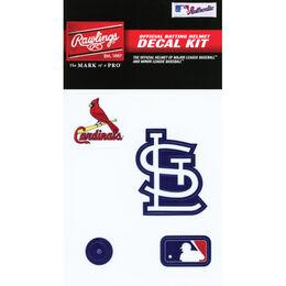 MLB St Louis Cardinals Decal Kit