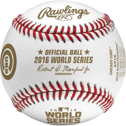 MLB 2016 World Series Champions Baseballs