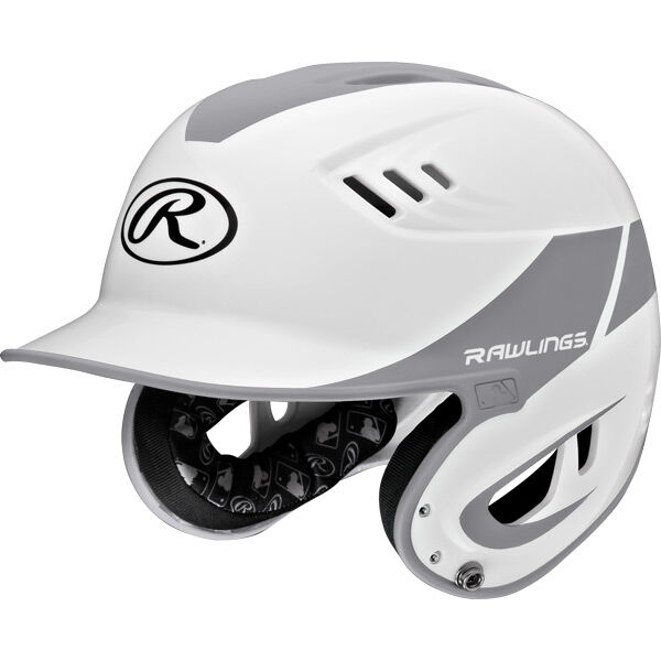 Velo Junior Batting Helmet Silver