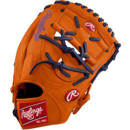Orange/Purple Custom Glove