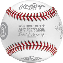 MLB 2017 National League Championship Series Dueling Baseball