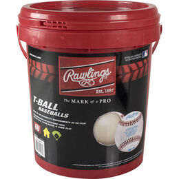 Bucket of 12 Little League T-Balls