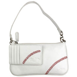 Baseball Stitch Wristlet Gift Set
