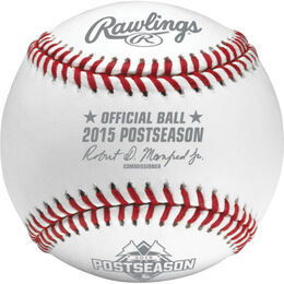 MLB 2015 Post Season Baseball